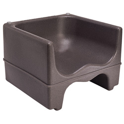 Cambro Dual Height Booster Seat Dark Brown 4 Pack