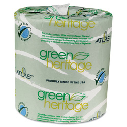 Atlas Paper Mills 235 2 Ply Bathroom Tissue 4 5 X 3 5 Apm235green Restockit