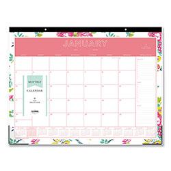 Blue Sky Day Designer Desk Pad Calendar 22 X 17 2018