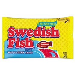 Cadbury adams swedish fish candy original flavor red for Swedish fish flavor