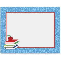 Geographics design paper 24 lbs books 8 1 2 x 11 blue for Blue bond paper
