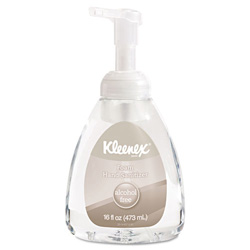 Kimberly clark kleenex alcohol free foam hand sanitizer 16 oz clear kim34111ea restockit Boardwalk 6145 bathroom tissue