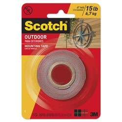 3m Scotch Exterior Weather Resistant Double Sided Tape 1