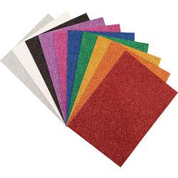 Pacon wonderfoam glitterf sheets 8 1 2 x 11 1 2 10 pk for Soft foam sheets craft