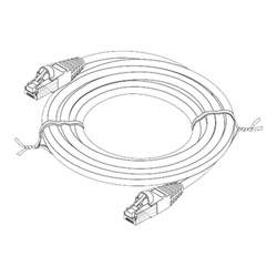 Punch Down Block Wiring Diagram likewise Steren Patch Cable 10 Ft  t07914 also Venn Diagram X On The Line as well  on rj45 wiring sequence