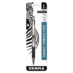 The Zebra F-301 Ballpoint Retractable Pen
