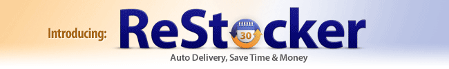 ReStockIt.com Auto Delivery program for business supplies