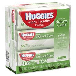Kimberly Clark Huggies 174 Natural Care Baby Wipes